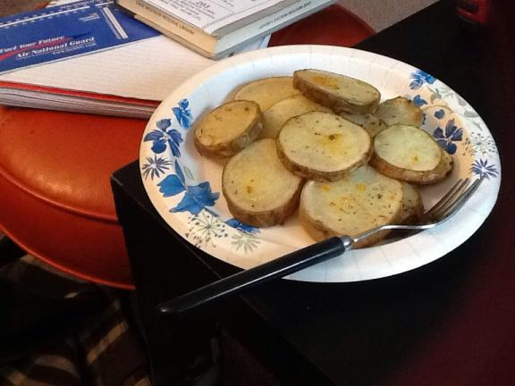 Sure, they just look like potato slices. But they taste yumtastic!